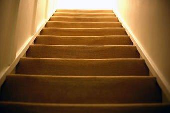 Treppen als Sturzrisiko