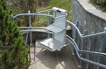 Plattformlift als Behindertenlift