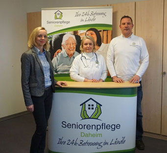 Seniorenpflege Daheim Team