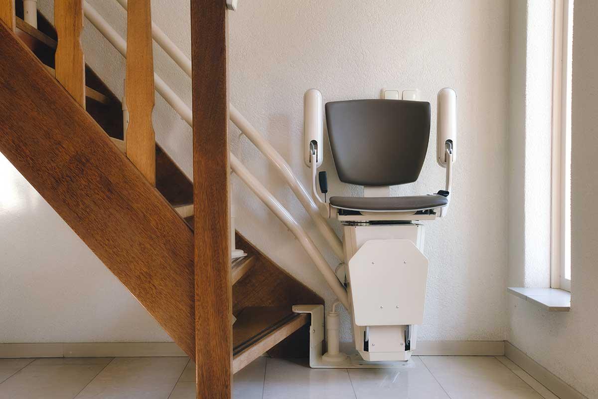 Monte-escalier pour les proches ayant besoin de soins