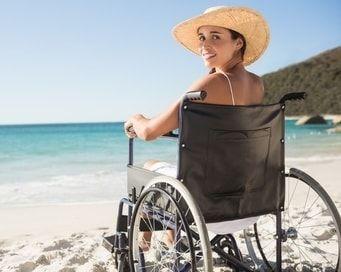 Hébergement accessible à la plage