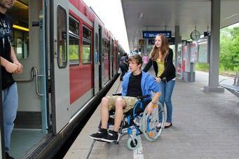 Die Bahn als Verkehrsmittel zum barrierefreien Reisen