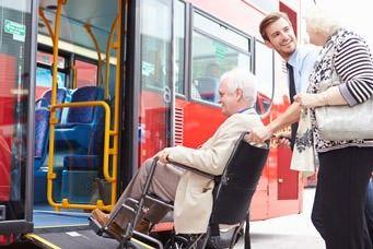 Der Bus als Verkehrsmittel zum barrierefreien Reisen