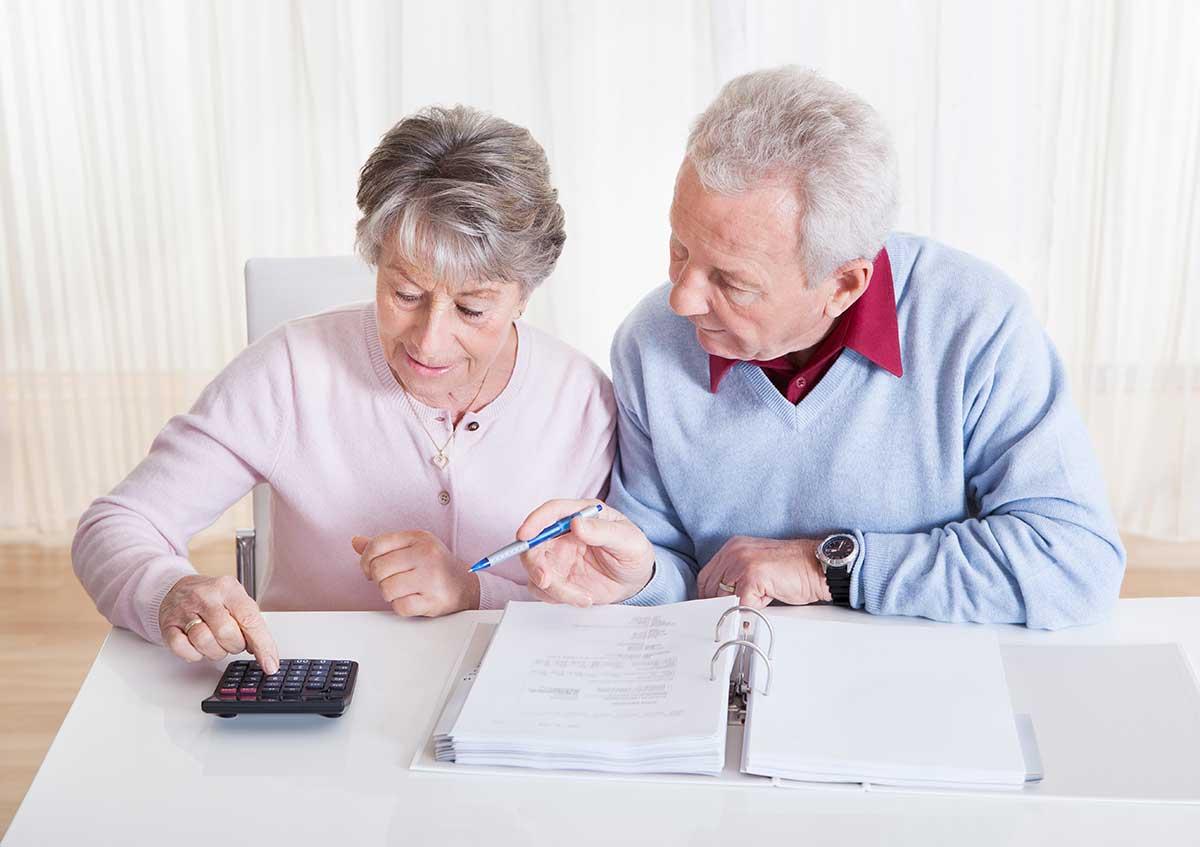 Finanzen im Alter: gut durchgerechnet