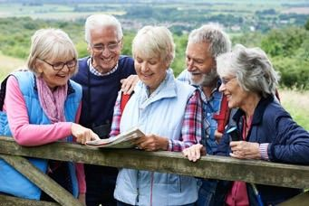 Fit im Alter mit Wandern