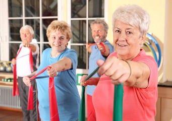 Gymnastik als Sport für Senioren