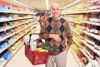 Für gesunde Ernährung im Alter richtig einkaufen