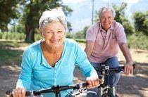 Sport für Senioren Fahrradtour