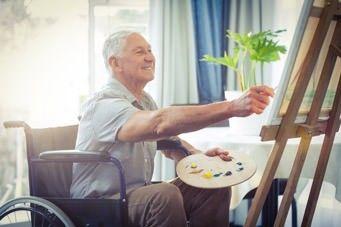 Kreativ und fit im Alter