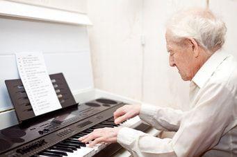 Mentale Fitness im Alter Musik
