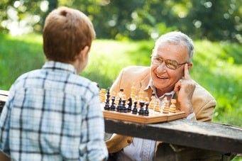Mentale Fitness mit Enkeln