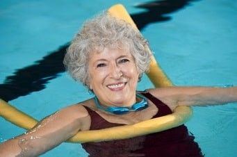 Seniorenschwimmen Spaß