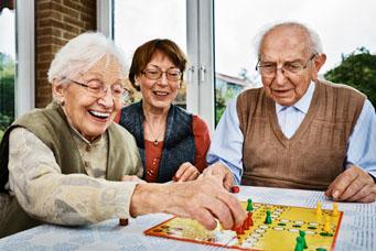 Spiele für Senioren: Brettspiel