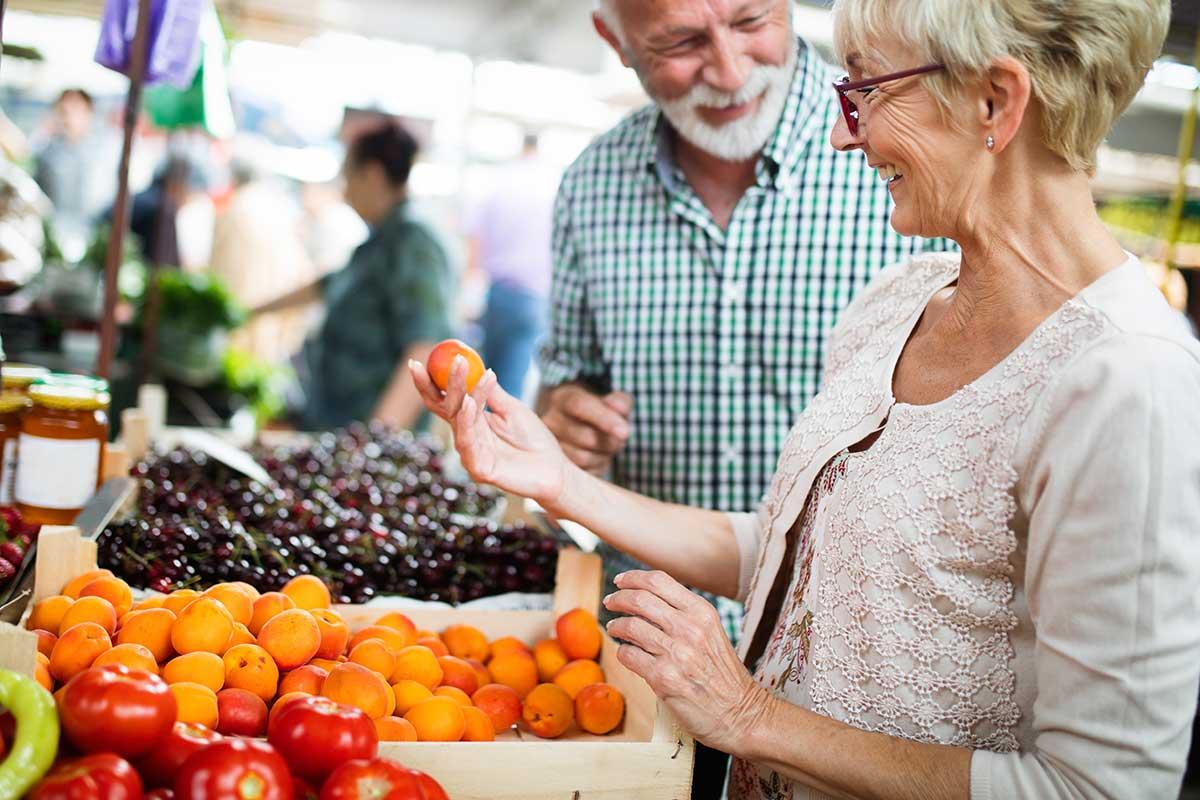 Im Alter gesund ernähren