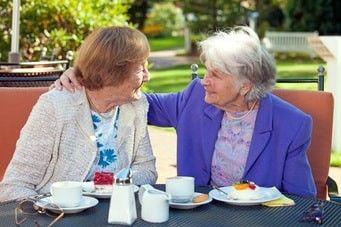 Senioren-WG gemeinsame Zei
