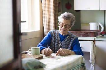 Möbel für Senioren in der Küche