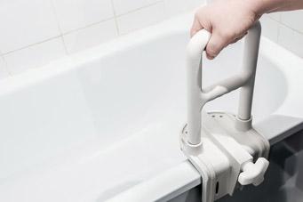 Baignoire d'aide verticale