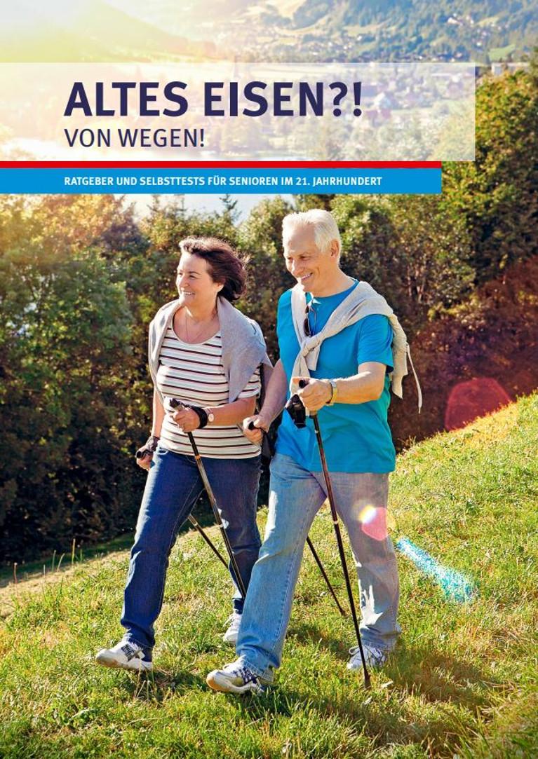 Ratgeber und Selbsttest für Senioren