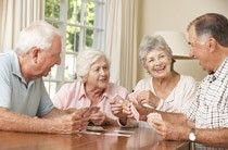 Leben im Alter hat viele positive Seiten