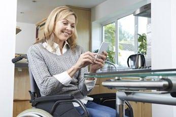 Behindertengerechtes Wohnen im smarten Haus