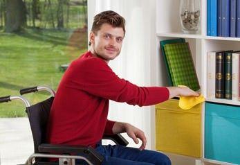 Wohnen mit Behinderung mit Barrierefreiheit