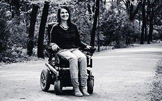 Wheelymum mit ihrem Blog rund um ihr Familienleben