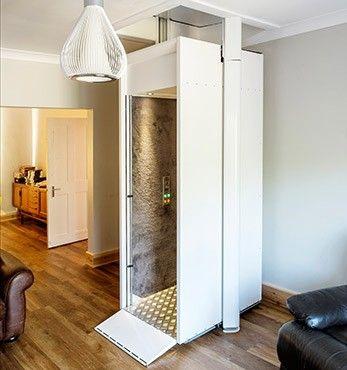 Unterschied Senkrechtlift zum Aufzug