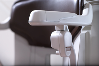 Komponenten eines Sitzlift